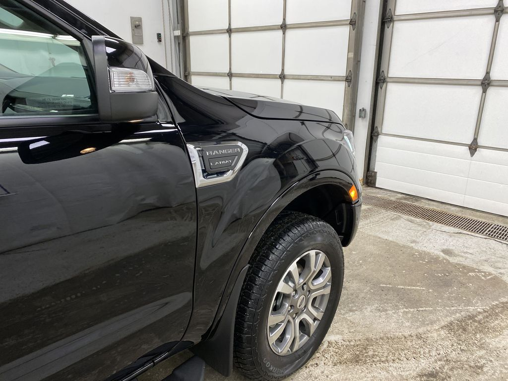 Black[Shadow Black] 2021 Ford Ranger Right Front Corner Photo in Dartmouth NS