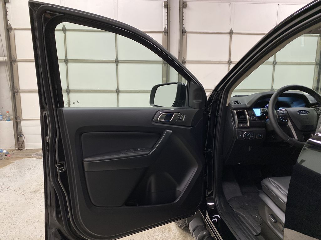 Black[Shadow Black] 2021 Ford Ranger Left Front Interior Door Panel Photo in Dartmouth NS