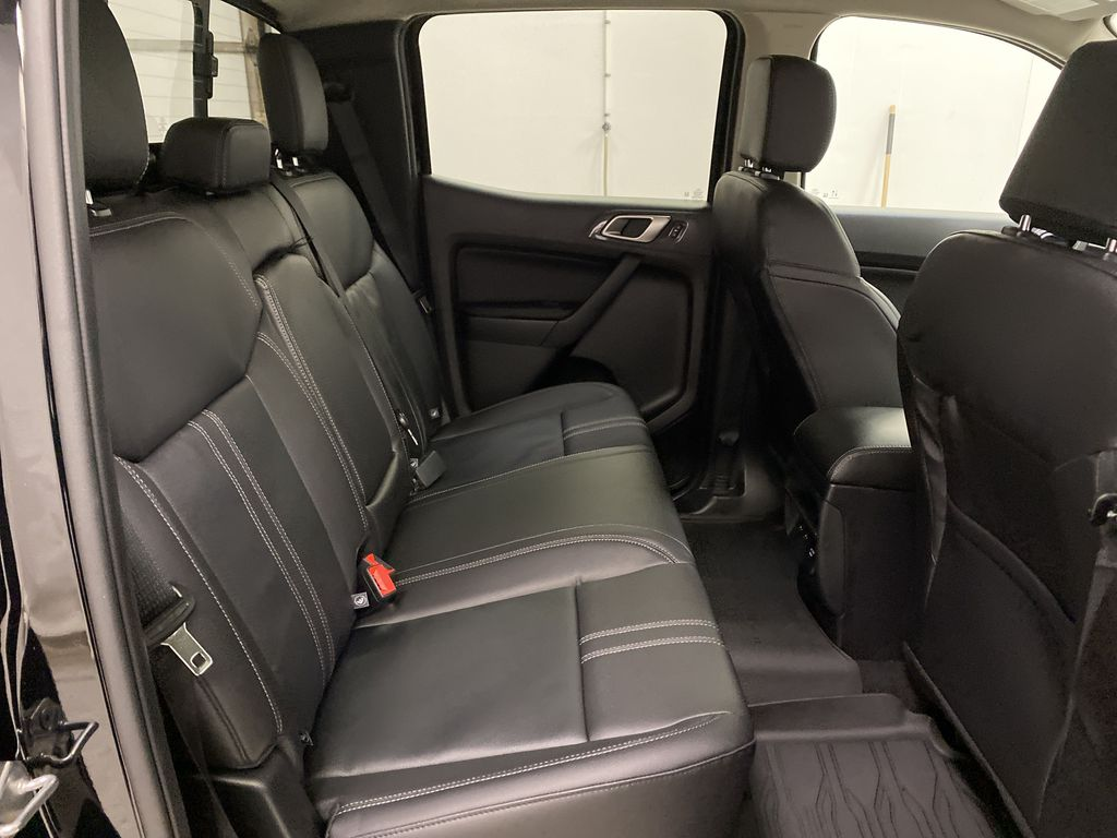 Black[Shadow Black] 2021 Ford Ranger Right Side Rear Seat  Photo in Dartmouth NS
