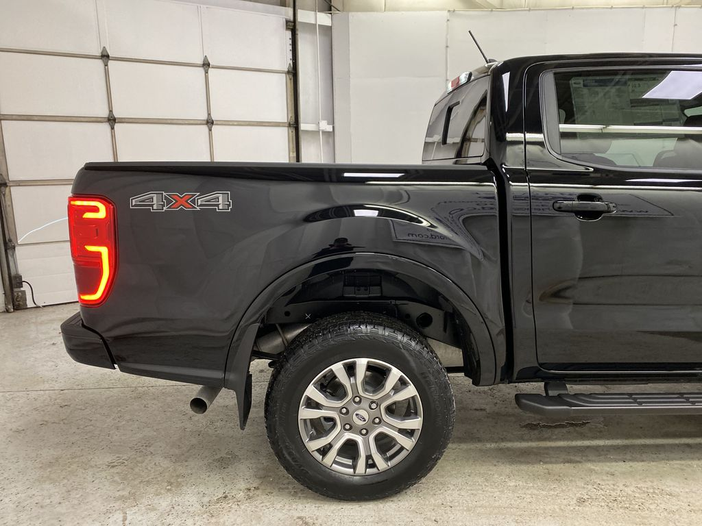 Black[Shadow Black] 2021 Ford Ranger Right Rear Corner Photo in Dartmouth NS