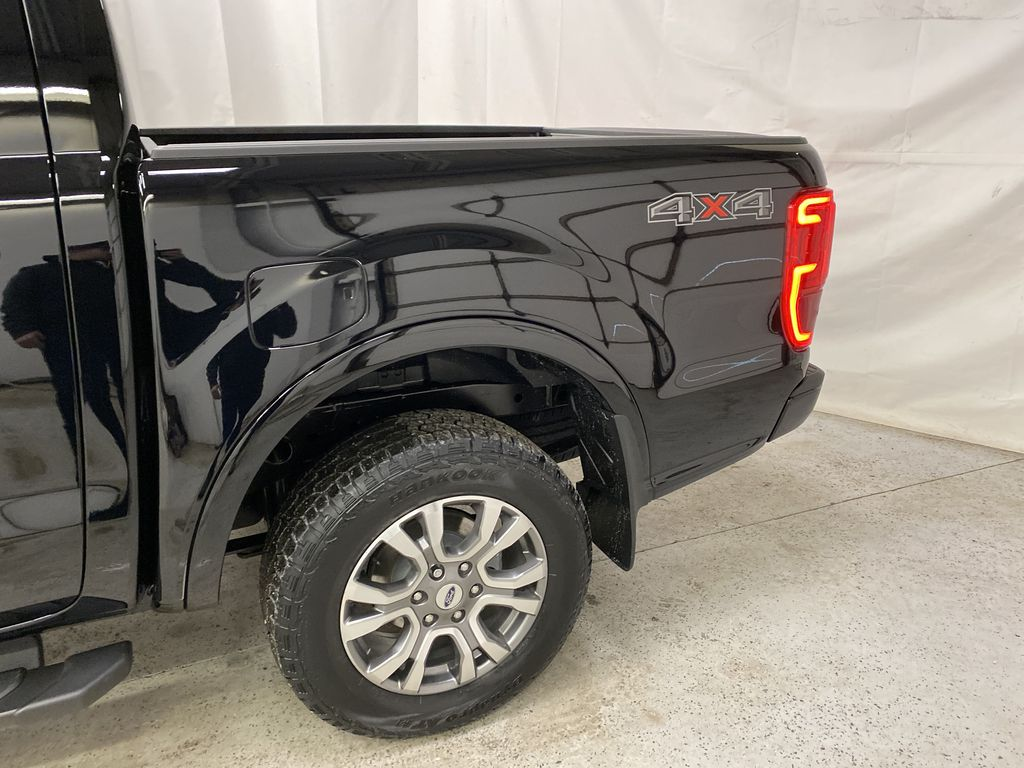 Black[Shadow Black] 2021 Ford Ranger Left Rear Corner Photo in Dartmouth NS