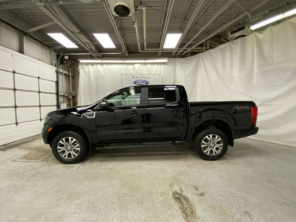 Black[Shadow Black] 2021 Ford Ranger Left Side Photo in Dartmouth NS