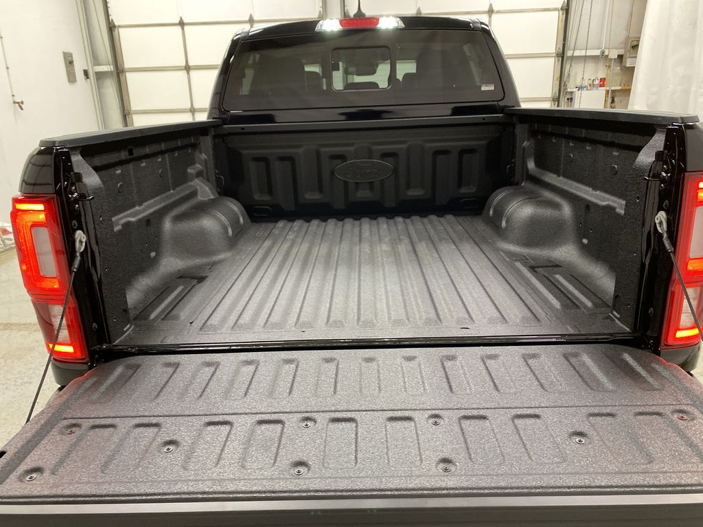 Black[Shadow Black] 2021 Ford Ranger Trunk / Cargo Area Photo in Dartmouth NS