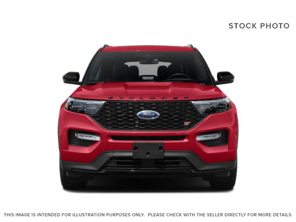 Gray[Carbonized Grey Metallic] 2021 Ford Explorer Front Vehicle Photo in Dartmouth NS