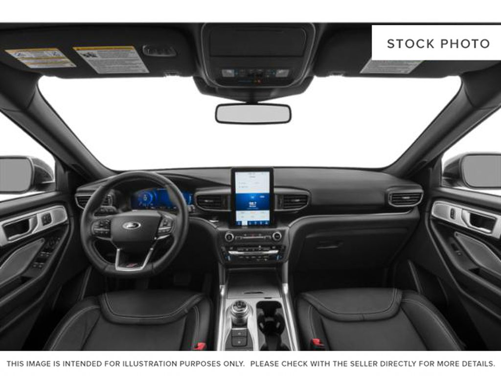 Gray[Carbonized Grey Metallic] 2021 Ford Explorer Central Dash Options Photo in Dartmouth NS