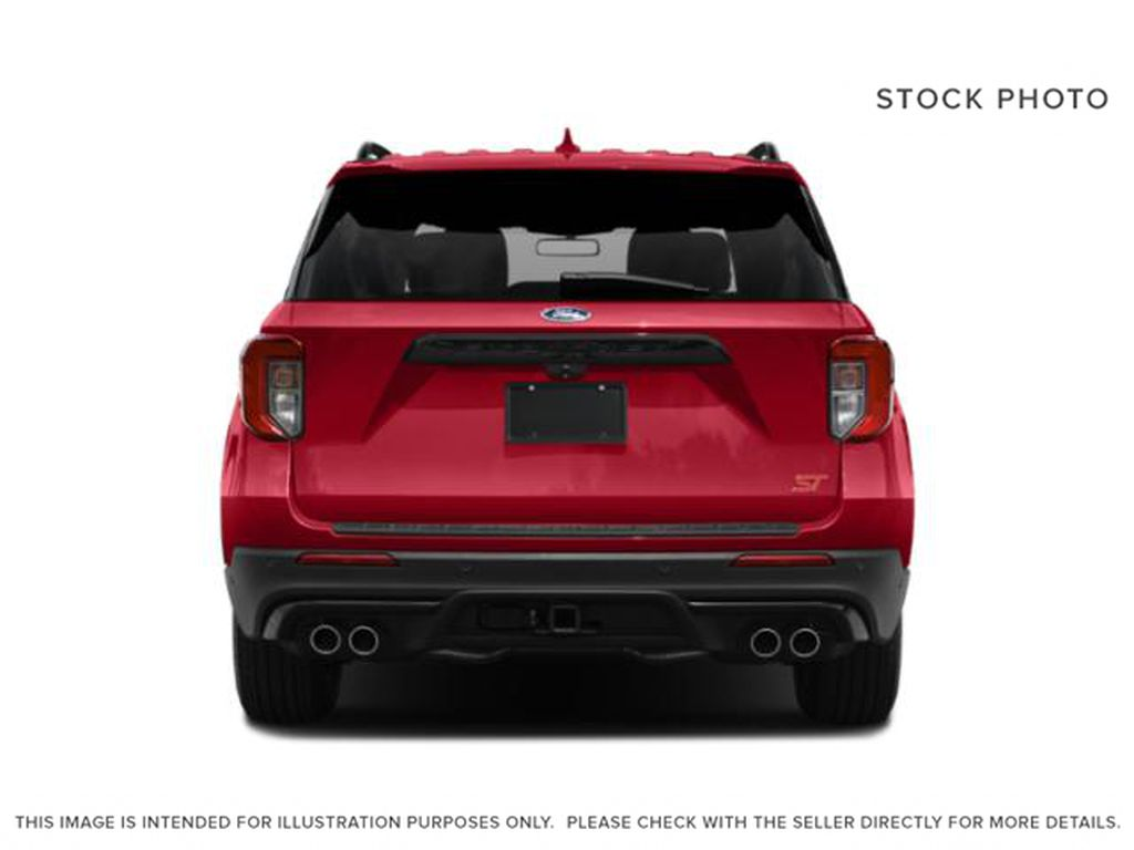 Gray[Carbonized Grey Metallic] 2021 Ford Explorer Rear of Vehicle Photo in Dartmouth NS