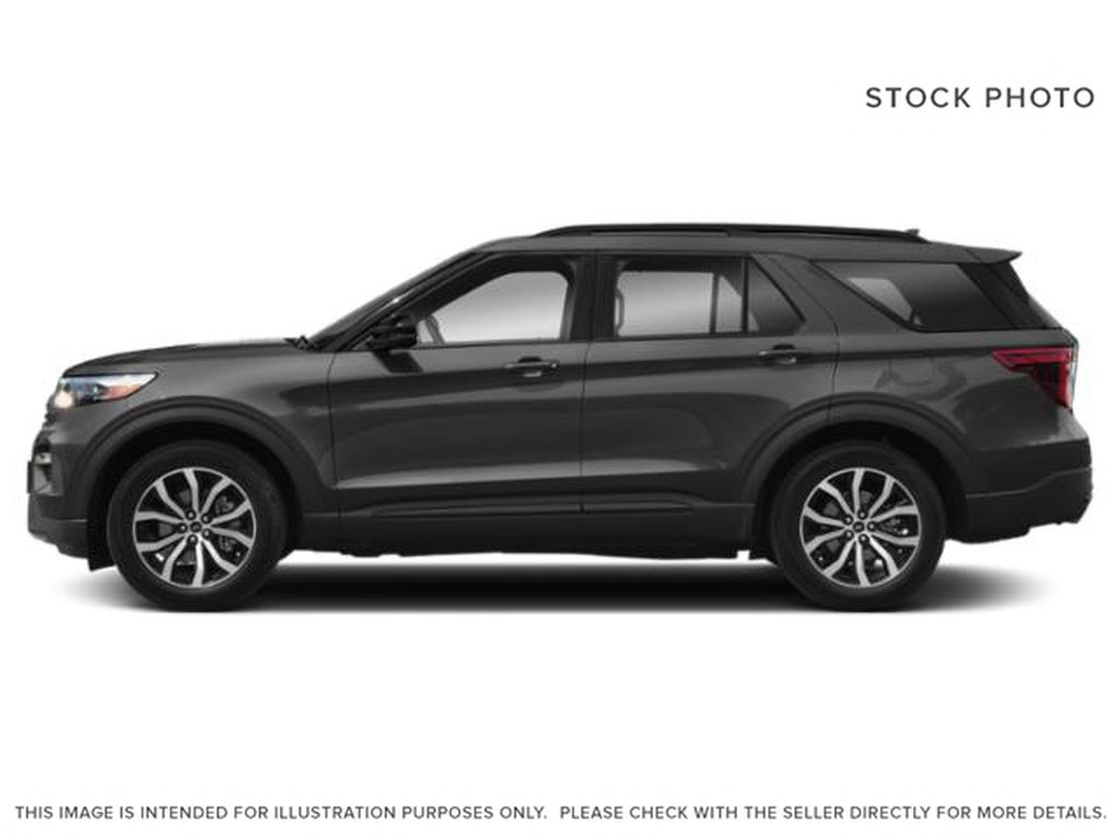 Gray[Carbonized Grey Metallic] 2021 Ford Explorer Left Side Photo in Dartmouth NS