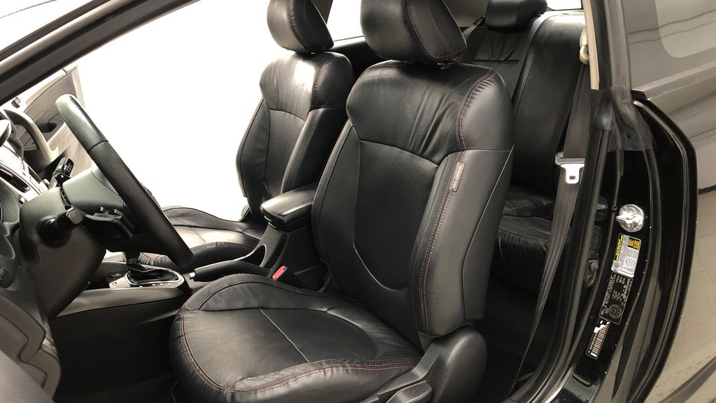 Black[Black Orchid] 2011 Kia Forte Koup SX - Automatic, Heated Seats, Bluetooth Left Front Interior Photo in Winnipeg MB