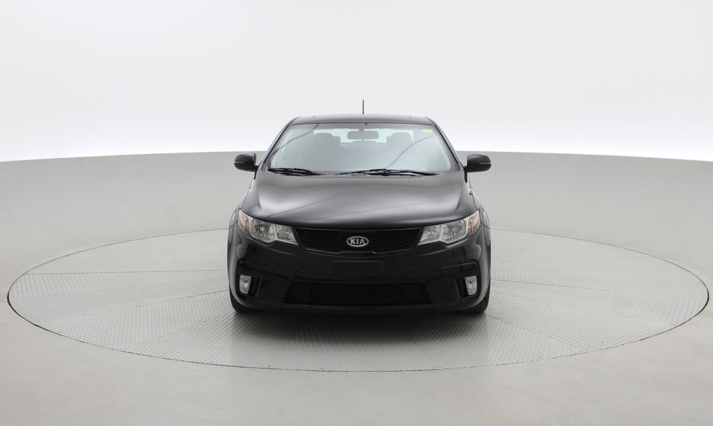 Black[Black Orchid] 2011 Kia Forte Koup SX - Automatic, Heated Seats, Bluetooth Front Vehicle Photo in Winnipeg MB