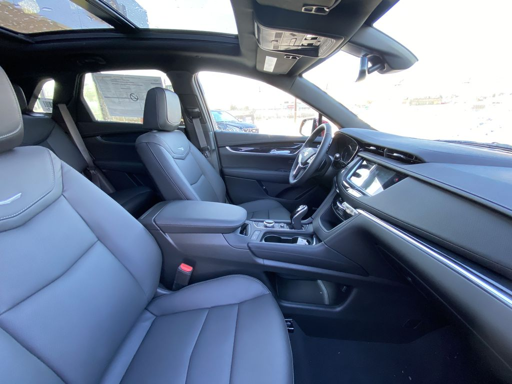 Red[Garnet Metallic] 2021 Cadillac XT5 Premium Luxury Right Side Front Seat  Photo in Calgary AB
