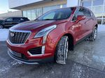 Red[Garnet Metallic] 2021 Cadillac XT5 Premium Luxury Left Front Head Light / Bumper and Grill in Calgary AB