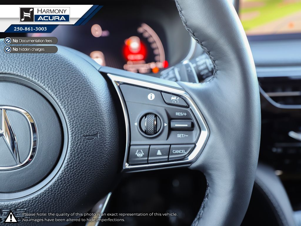 WHITE NH-883P 2022 Acura MDX Central Dash Options Photo in Kelowna BC