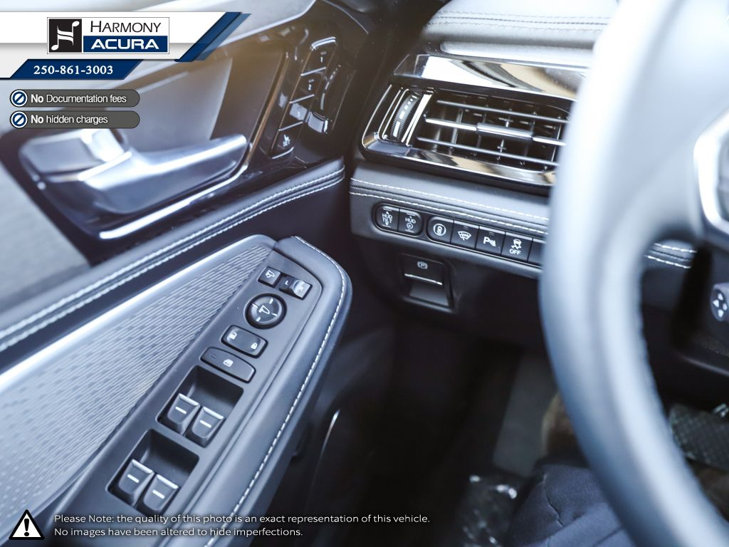 WHITE NH-883P 2022 Acura MDX Left Driver Controlled Options Photo in Kelowna BC