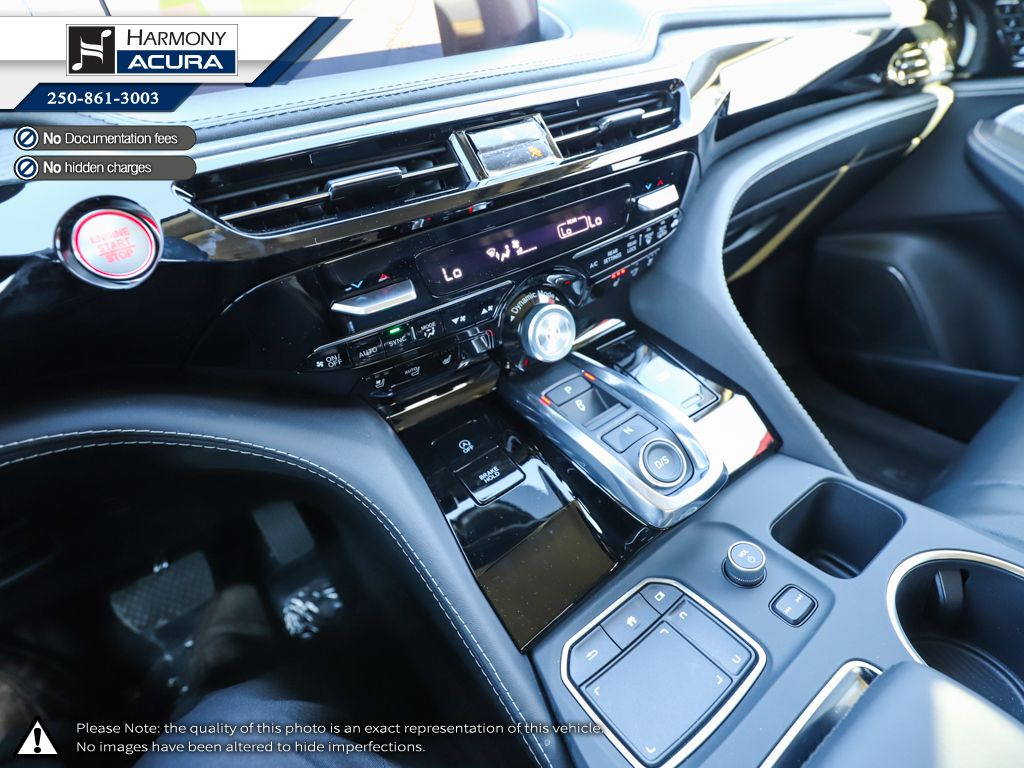 WHITE NH-883P 2022 Acura MDX Left Front Seat Photo in Kelowna BC