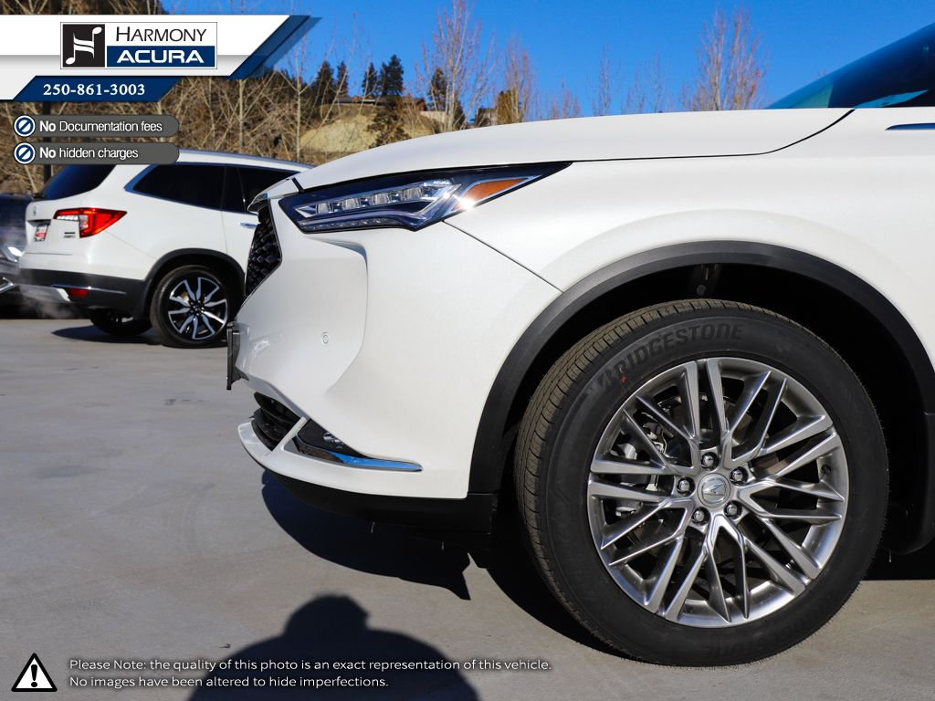 WHITE NH-883P 2022 Acura MDX Third Row Seat or Additional  Photo in Kelowna BC