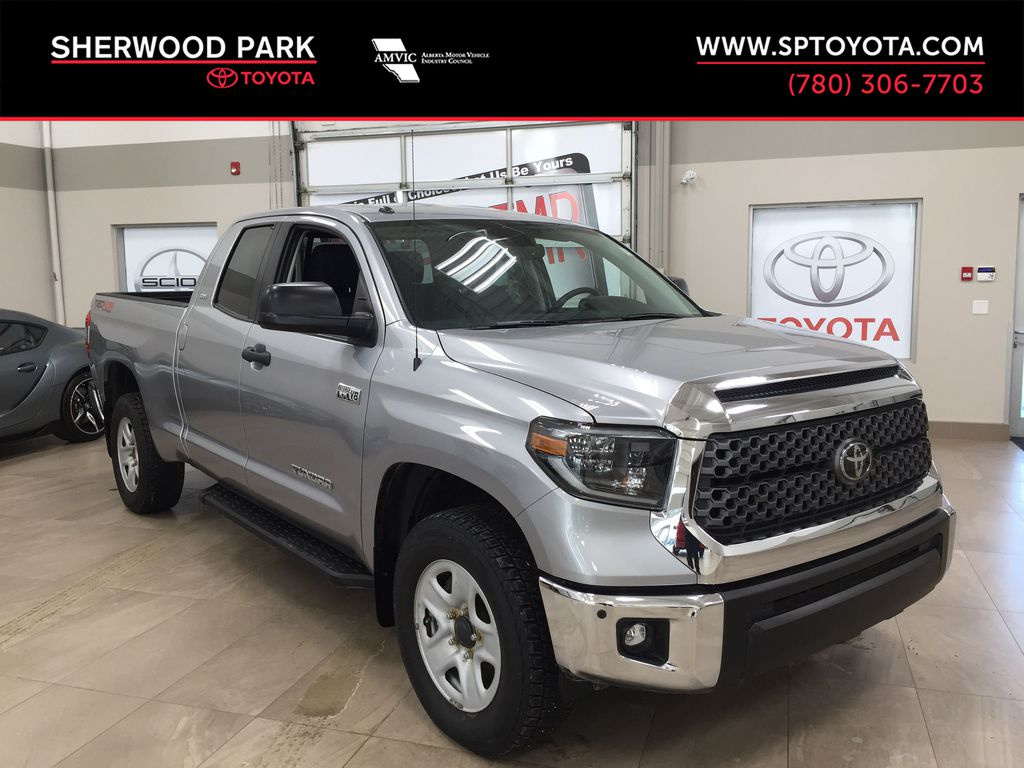 Silver[Silver Sky Metallic] 2019 Toyota Tundra TRD Off-Road Double Cab 4x4