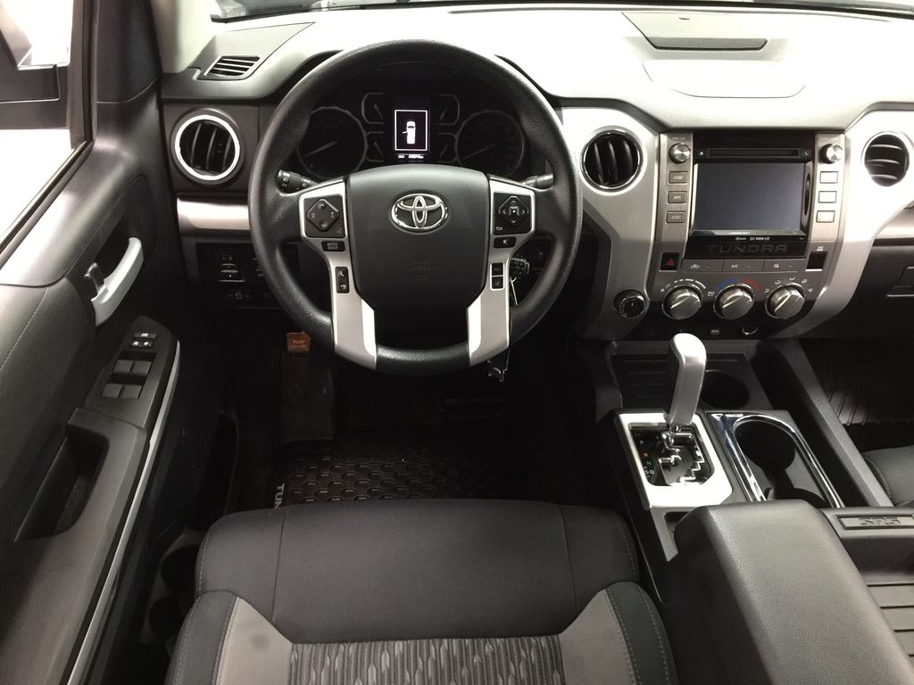 Silver[Silver Sky Metallic] 2019 Toyota Tundra TRD Off-Road Double Cab 4x4 Left Front Seat Photo in Sherwood Park AB