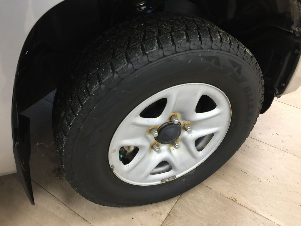 Silver[Silver Sky Metallic] 2019 Toyota Tundra TRD Off-Road Double Cab 4x4 Right Front Rim and Tire Photo in Sherwood Park AB