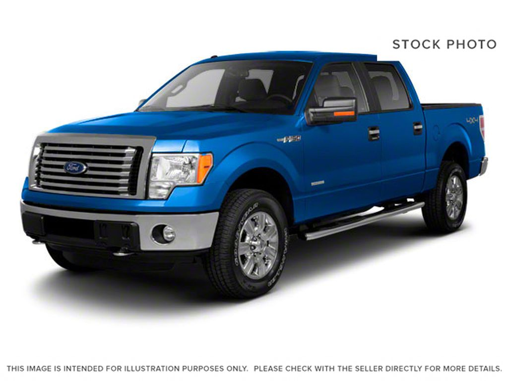 Red 2011 Ford F-150