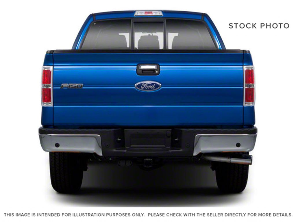 Red 2011 Ford F-150 Rear of Vehicle Photo in Fort Macleod AB