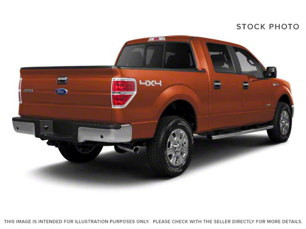 Red 2011 Ford F-150 Right Rear Corner Photo in Fort Macleod AB