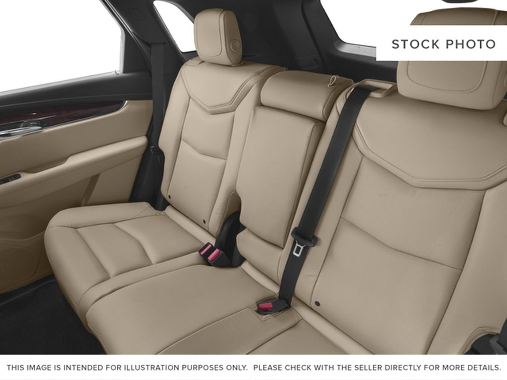 White[Crystal White Tricoat] 2017 Cadillac XT5 Left Side Rear Seat  Photo in Fort Macleod AB