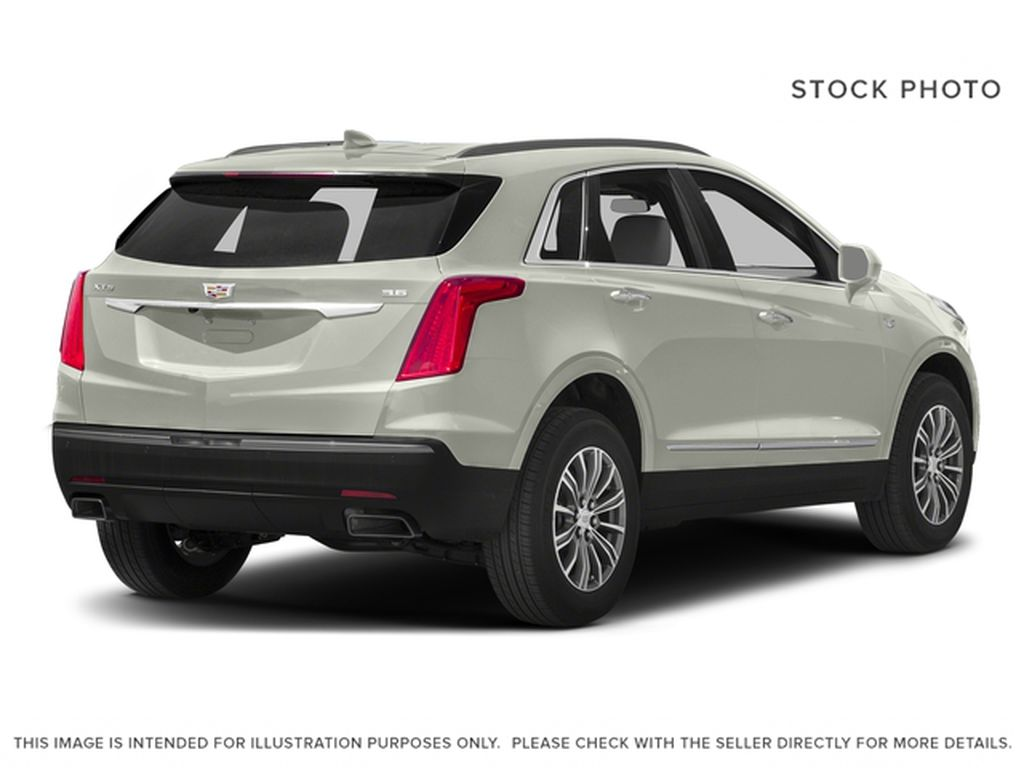 White[Crystal White Tricoat] 2017 Cadillac XT5 Right Rear Corner Photo in Fort Macleod AB
