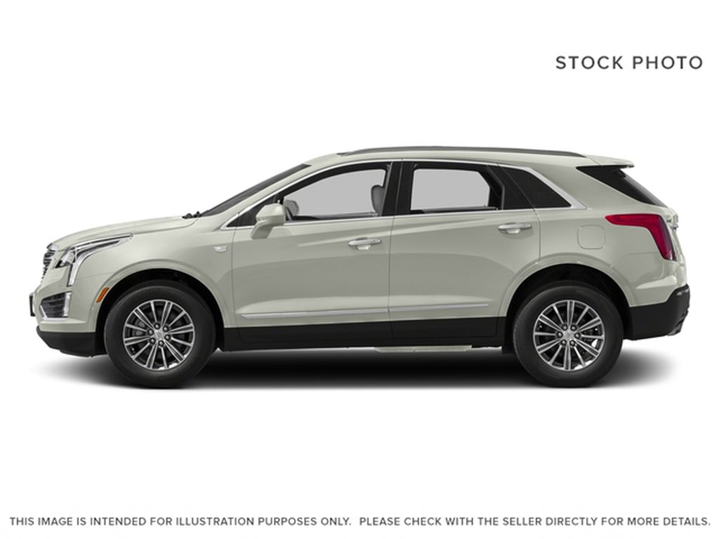 White[Crystal White Tricoat] 2017 Cadillac XT5 Left Side Photo in Fort Macleod AB