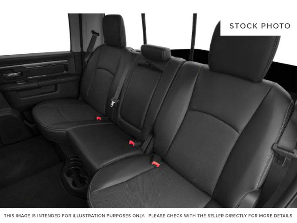 Red[Flame Red] 2018 Ram 1500 Left Side Rear Seat  Photo in Fort Macleod AB
