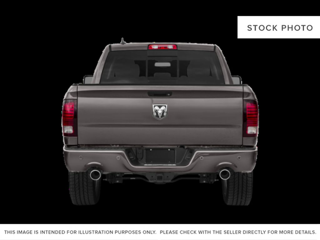 Red[Flame Red] 2018 Ram 1500 Rear of Vehicle Photo in Fort Macleod AB