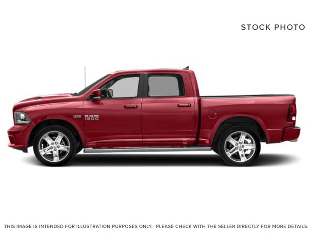 Red[Flame Red] 2018 Ram 1500 Left Side Photo in Fort Macleod AB
