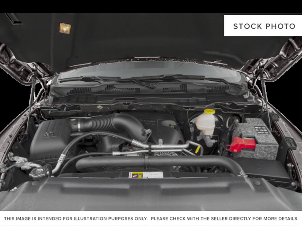 Red[Flame Red] 2018 Ram 1500 Engine Compartment Photo in Fort Macleod AB