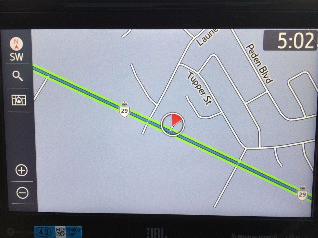White[Blizzard Pearl] 2021 Toyota RAV4 Navigation Screen Closeup Photo in Brockville ON