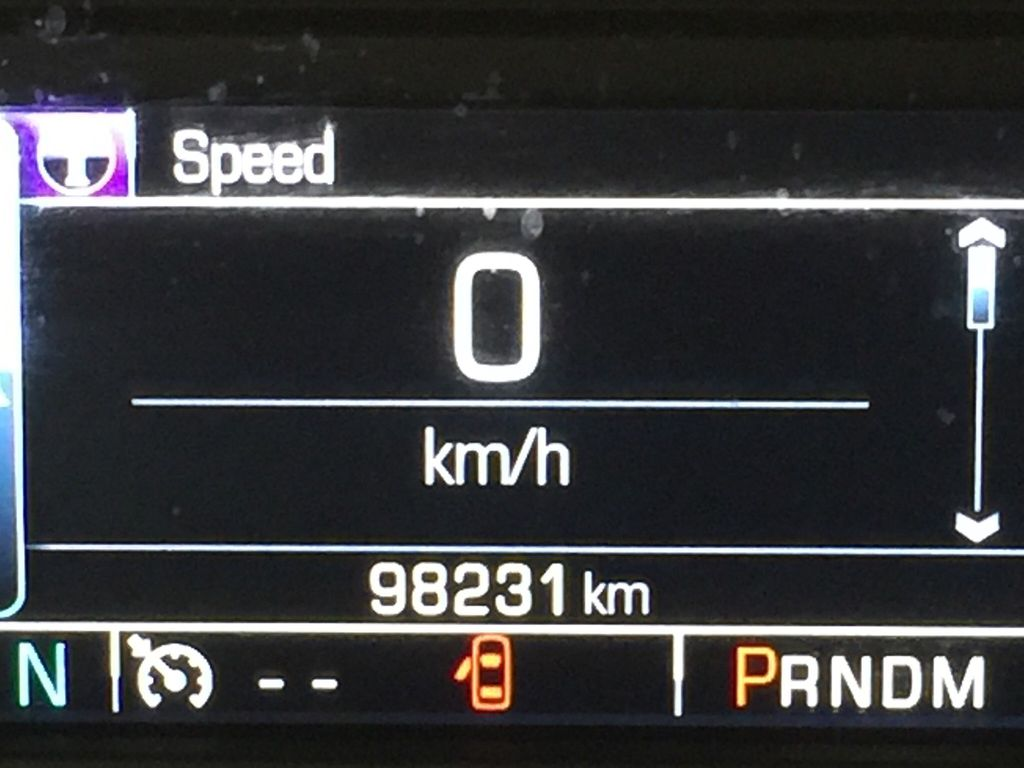 Red[Victory Red] 2015 Chevrolet Silverado 1500 LT Odometer Photo in Sherwood Park AB