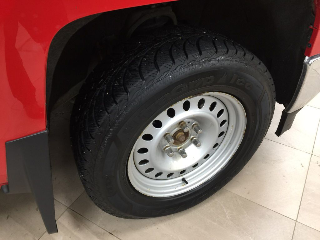 Red[Victory Red] 2015 Chevrolet Silverado 1500 LT Right Front Rim and Tire Photo in Sherwood Park AB