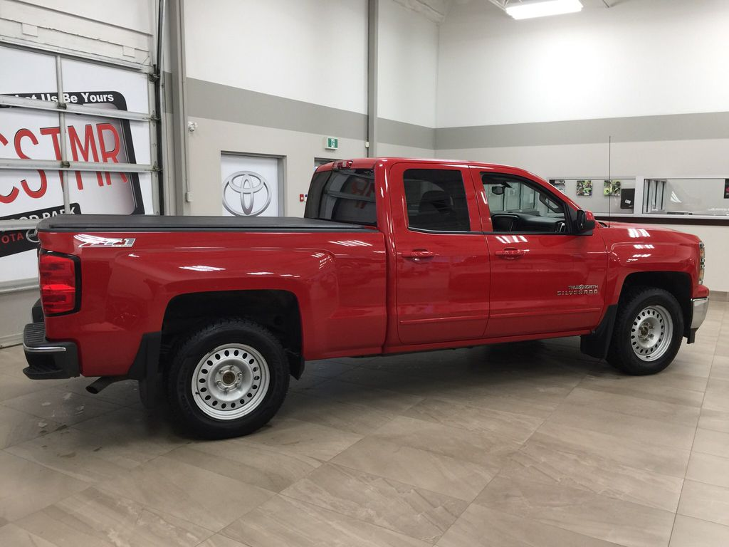 Red[Victory Red] 2015 Chevrolet Silverado 1500 LT Right Side Photo in Sherwood Park AB