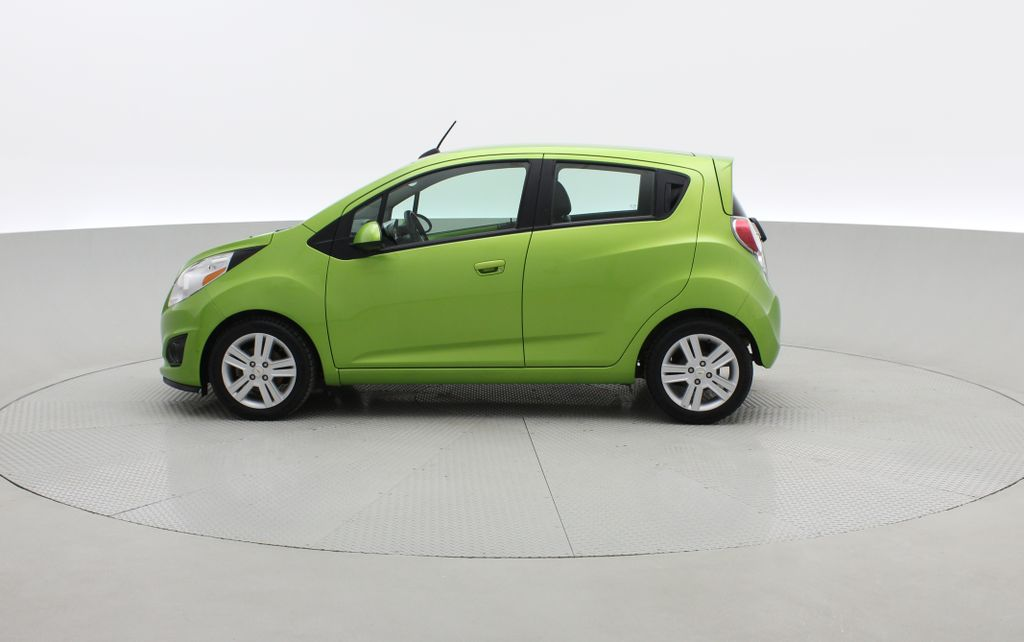 Green[Lime] 2015 Chevrolet Spark LT - AUTO,  Bluetooth, Automatic, SiriusXM Radio Left Side Photo in Winnipeg MB