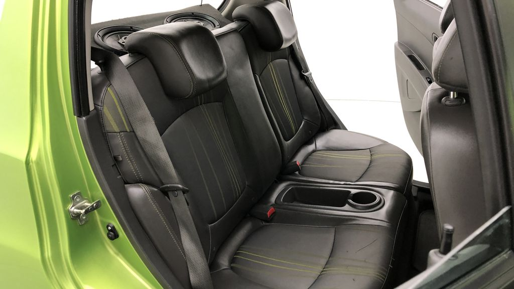 Green[Lime] 2015 Chevrolet Spark LT - AUTO,  Bluetooth, Automatic, SiriusXM Radio Right Side Rear Seat  Photo in Winnipeg MB