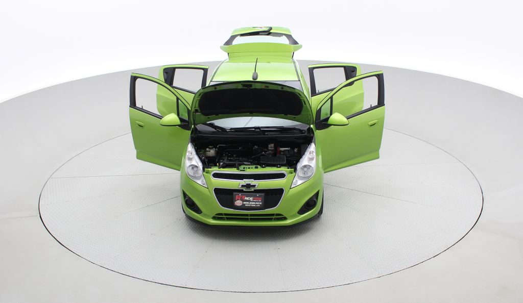 Green[Lime] 2015 Chevrolet Spark LT - AUTO,  Bluetooth, Automatic, SiriusXM Radio Front Vehicle Photo in Winnipeg MB