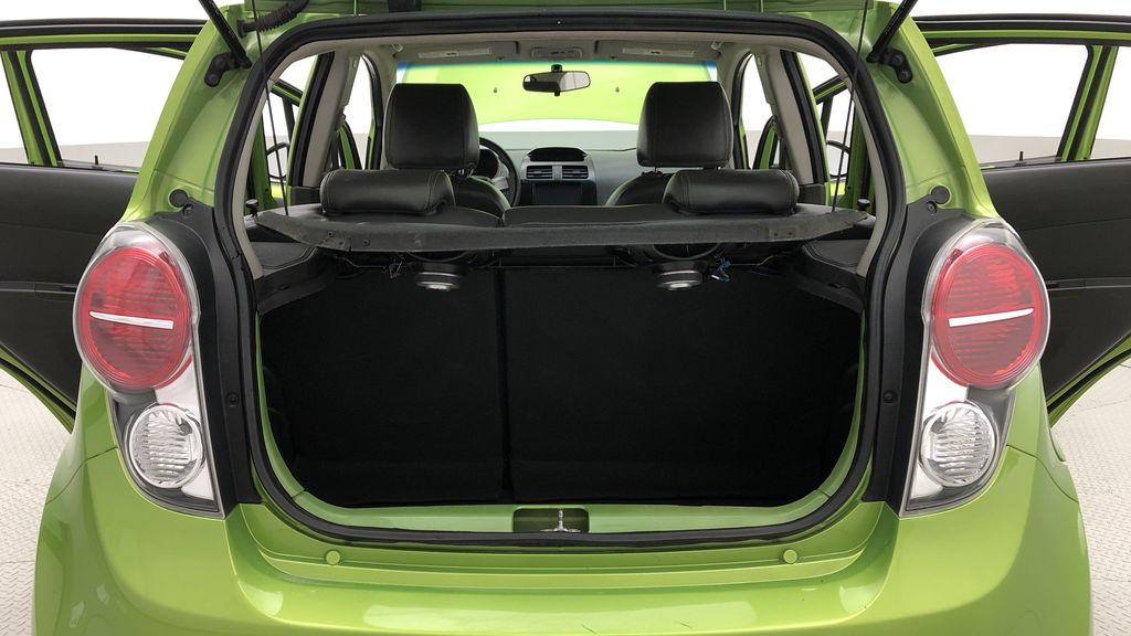 Green[Lime] 2015 Chevrolet Spark LT - AUTO,  Bluetooth, Automatic, SiriusXM Radio Trunk / Cargo Area Photo in Winnipeg MB