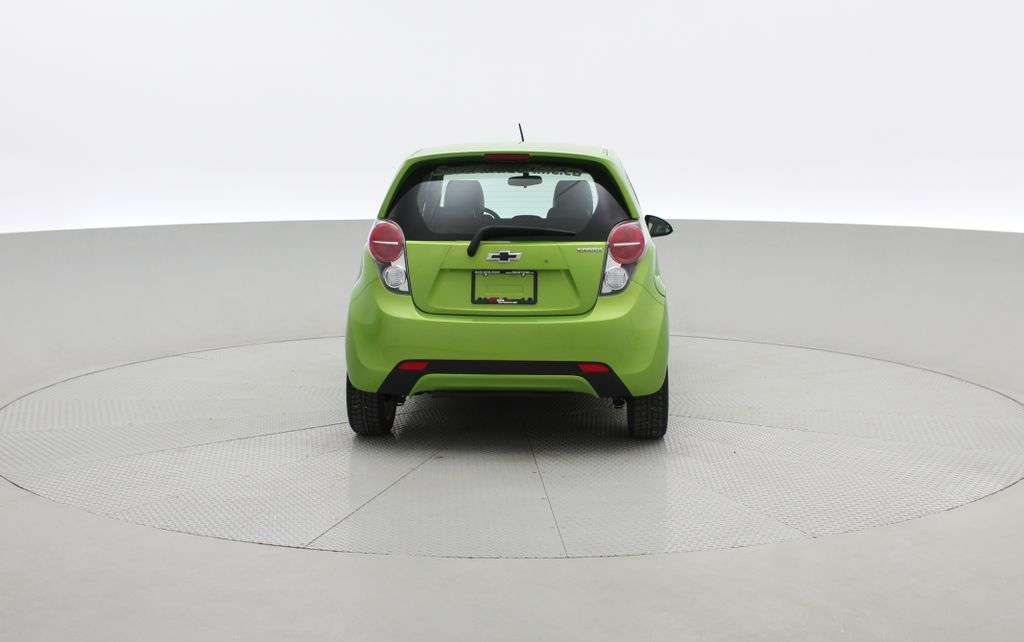 Green[Lime] 2015 Chevrolet Spark LT - AUTO,  Bluetooth, Automatic, SiriusXM Radio Rear of Vehicle Photo in Winnipeg MB