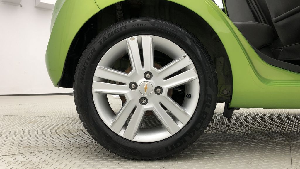 Green[Lime] 2015 Chevrolet Spark LT - AUTO,  Bluetooth, Automatic, SiriusXM Radio Right Rear Rim and Tire Photo in Winnipeg MB