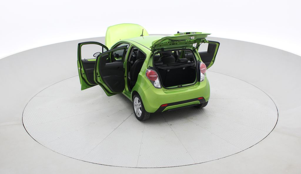 Green[Lime] 2015 Chevrolet Spark LT - AUTO,  Bluetooth, Automatic, SiriusXM Radio Right  Rear Corner Photo in Winnipeg MB