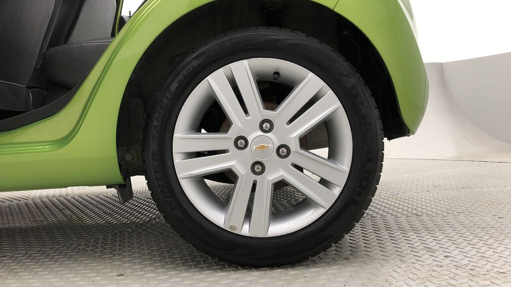 Green[Lime] 2015 Chevrolet Spark LT - AUTO,  Bluetooth, Automatic, SiriusXM Radio Left Rear Rim and Tire Photo in Winnipeg MB