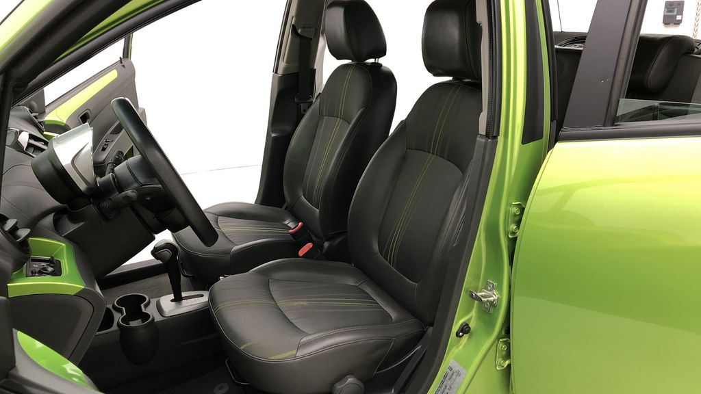 Green[Lime] 2015 Chevrolet Spark LT - AUTO,  Bluetooth, Automatic, SiriusXM Radio Left Front Interior Photo in Winnipeg MB