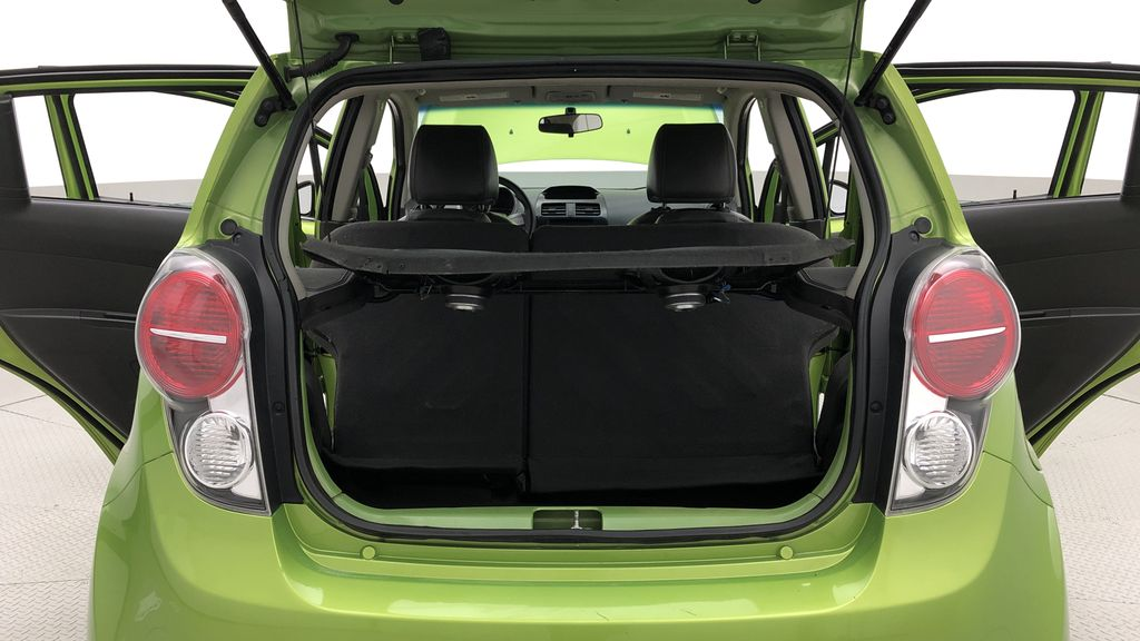 Green[Lime] 2015 Chevrolet Spark LT - AUTO,  Bluetooth, Automatic, SiriusXM Radio Rear Seat: Cargo/Storage Photo in Winnipeg MB