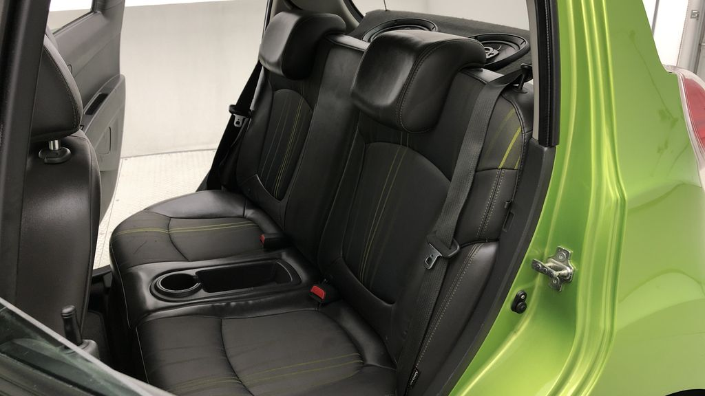 Green[Lime] 2015 Chevrolet Spark LT - AUTO,  Bluetooth, Automatic, SiriusXM Radio Left Side Rear Seat  Photo in Winnipeg MB
