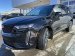 Black[Stellar Black Metallic] 2021 Cadillac XT6 Sport Left Front Head Light / Bumper and Grill in Calgary AB