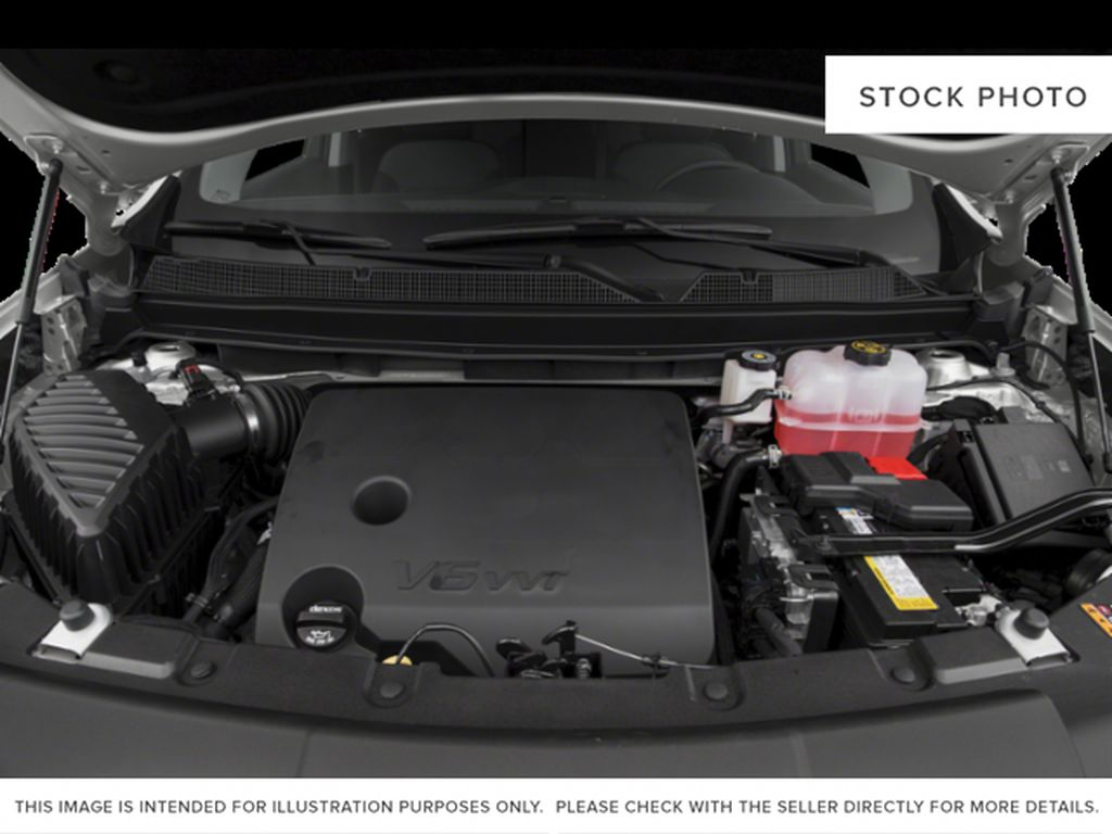 Silver[Silver Ice Metallic] 2021 Chevrolet Traverse Engine Compartment Photo in Edmonton AB