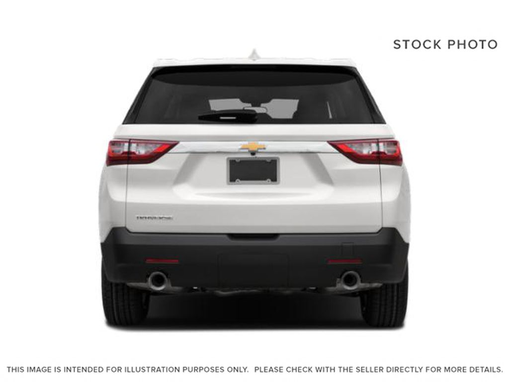 Silver[Silver Ice Metallic] 2021 Chevrolet Traverse Rear of Vehicle Photo in Edmonton AB